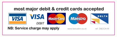 We accept all major