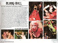 Blood Ball article